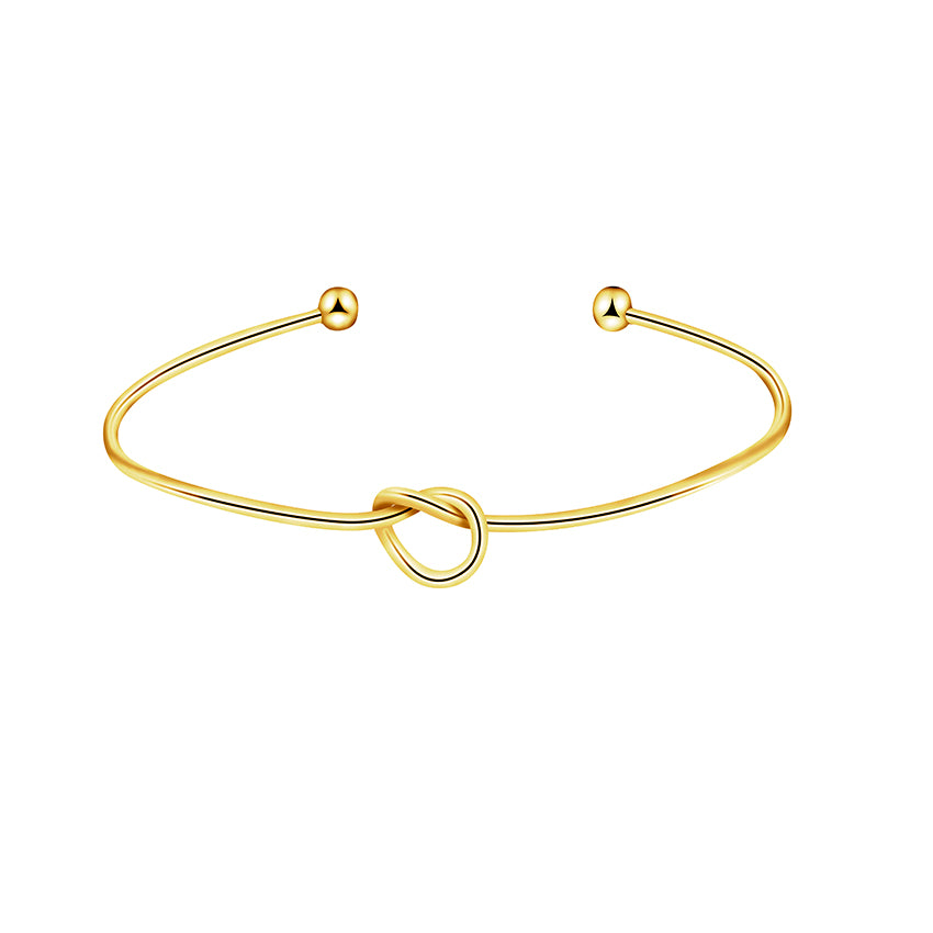 bangle gold jewellery en bangles big knot