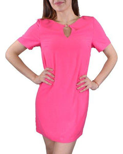 Ladies Pink Party Dress