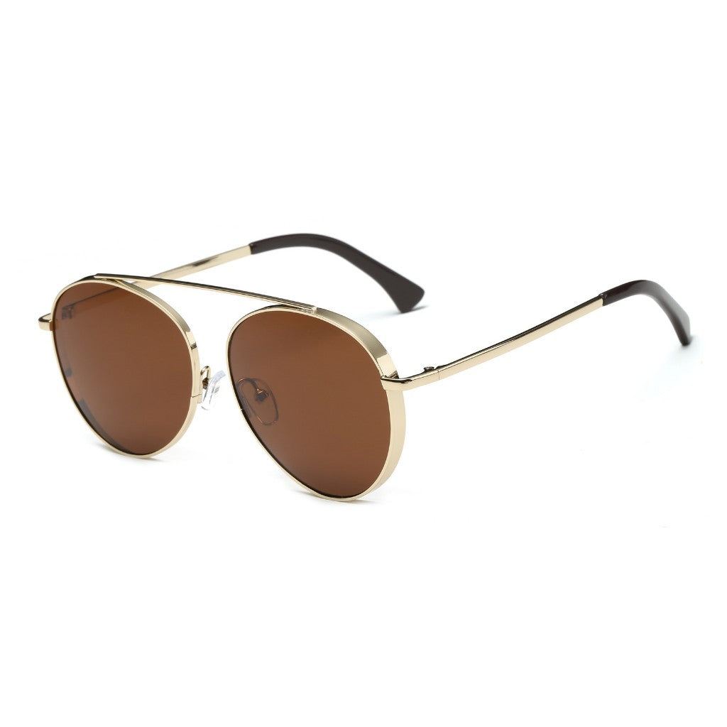 Classic Premium Retro Vintage Metal Mirrored UV Protection Aviator Fashion Sunglasses for Men and Women