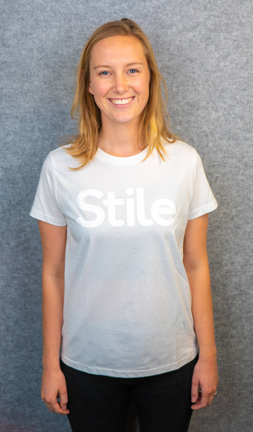 White women's Stile Tee