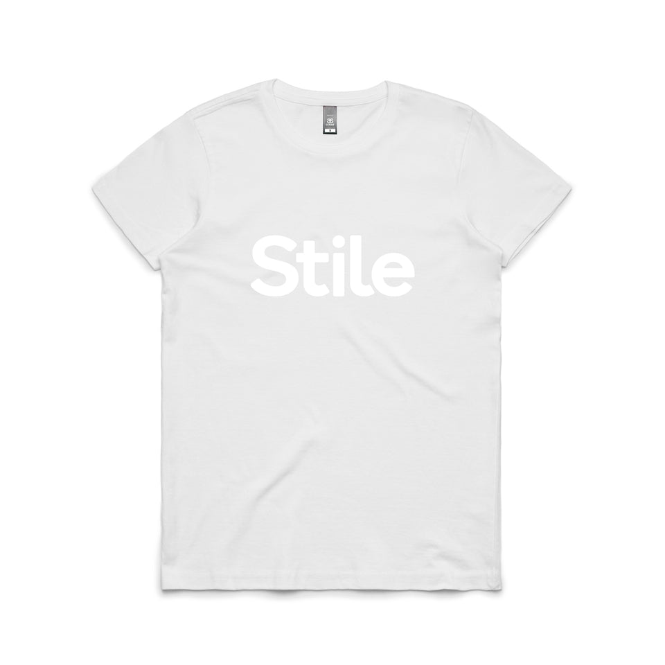 Women's Stile T-Shirt (White)