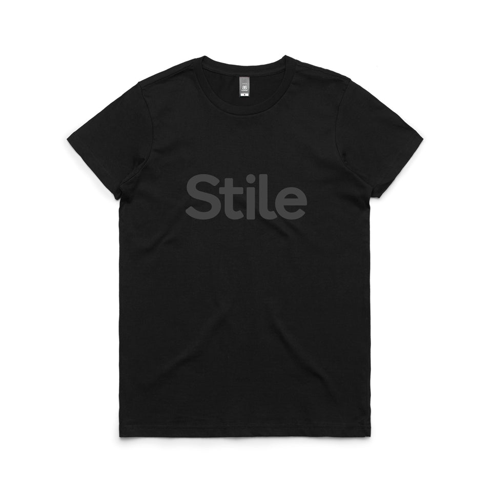 Women's Stile T-Shirt (Black)