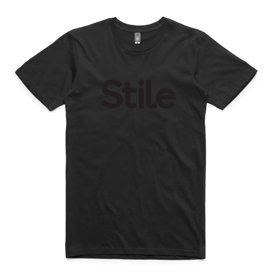 Men's Stile T-Shirt (Black)