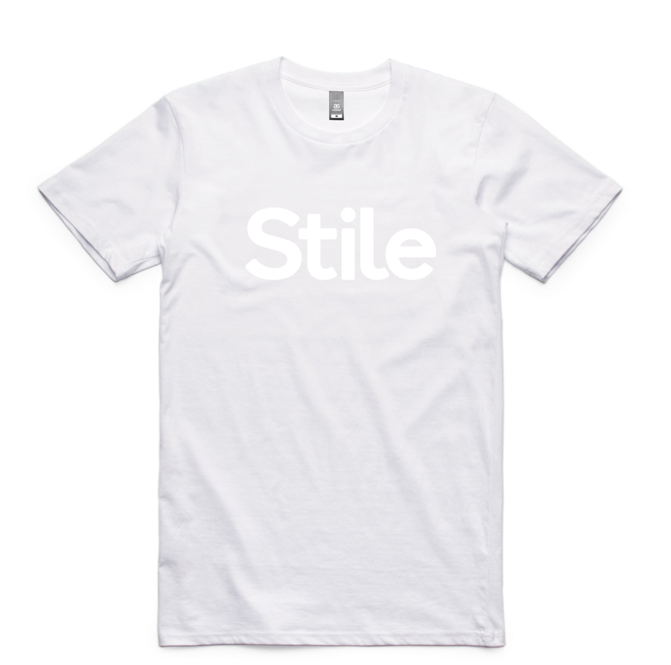 Men's Stile T-Shirt (White)
