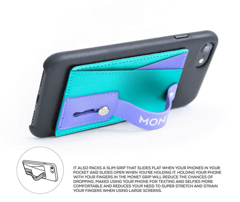 Image of Monet Ultra Grip | Multi color Blue/Purple