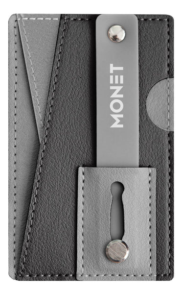 Monet Ultra Grip 3-in-1 Smart Phone Wallet | Card Holder | Kickstand | Multi