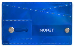 Monet 3-in-1 Smartphone Slim Wallet | Card Holder | Kickstand | Blue