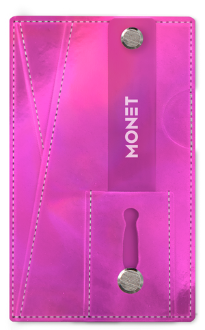 Monet 3-in-1 Smartphone Slim Wallet | Card Holder | Kickstand | Pink