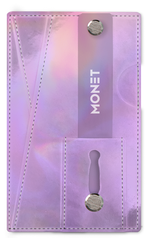 Monet 3-in-1 Smartphone Slim Wallet | Card Holder | Kickstand | Lavender