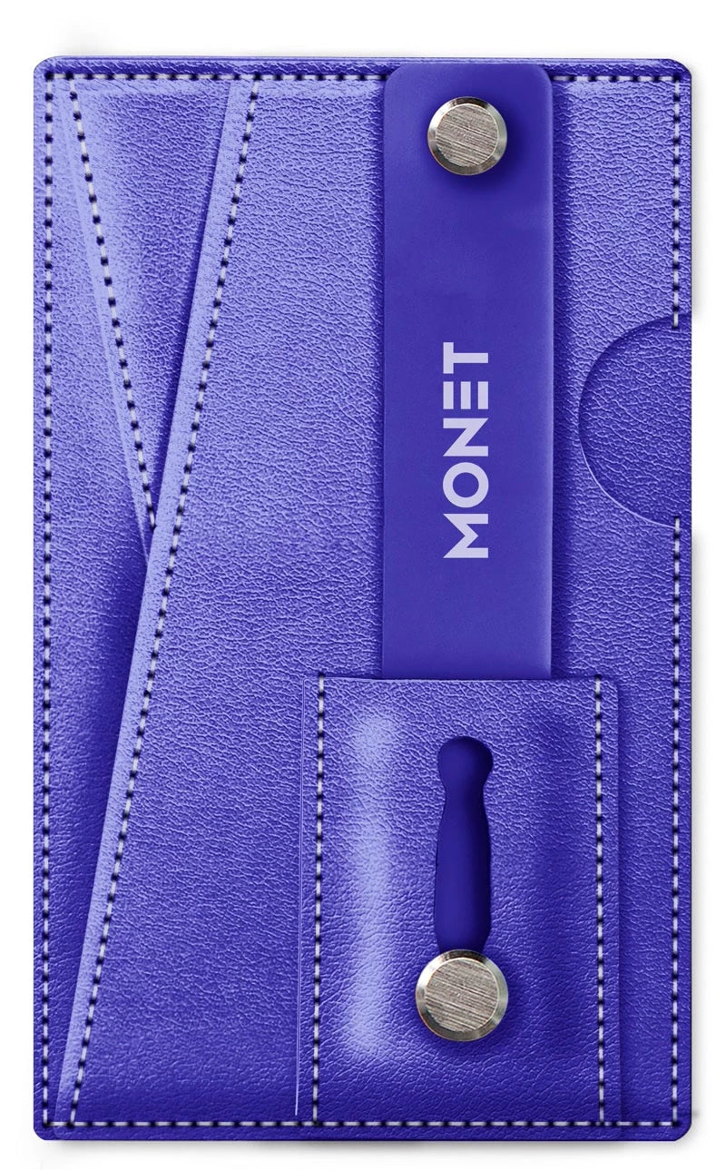 Monet 3-in-1 Leather Smart Phone Slim Wallet | Card Holder | Kickstand