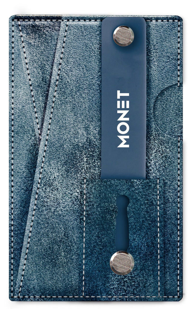 Monet 3-in-1 Suede Smart Phone Slim Wallet | Card Holder | Kickstand
