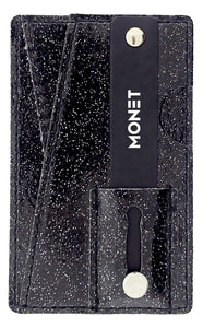 Monet Ultra Grip | Black Glitter