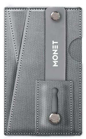 Monet 3-in-1 Snake Skin Smart Phone Slim Wallet | Card Holder | Kickstand