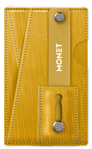 Monet Shimmer Striation Smart Phone Slim Wallet | Card Holder | Kickstand