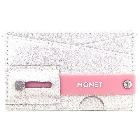 Monet Ultra Grip | White Glitter