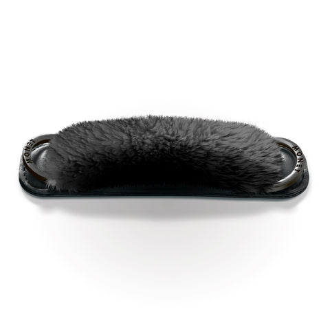 Image of Fur Strap - Black