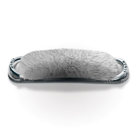 Image of Fur Strap - Gray