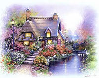 Cottage on Pond I