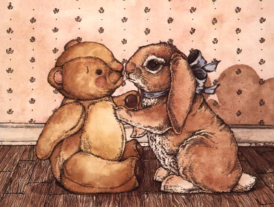 Teddy and Bunny