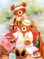 Teddies In The Boat