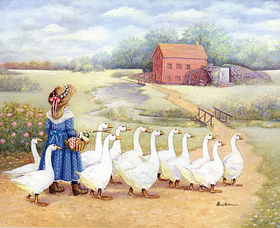 Single Girl Geese