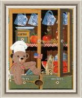 Shadow Box Teddy