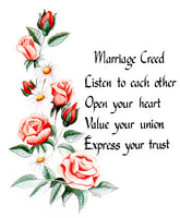 Marriage Creed I