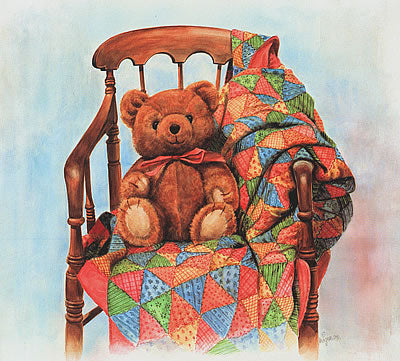 Teddy And The Quilt