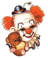 Clown And Teddy Bear