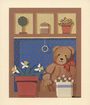 Teddy Flower Pot