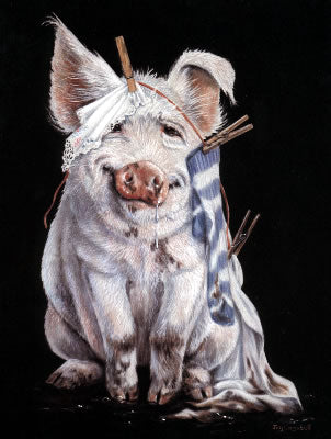 Pig With Pegs