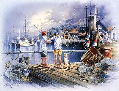 Dockside Fishing