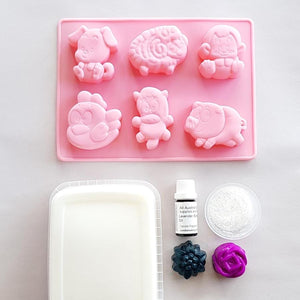 Farm Animals Soap Kit
