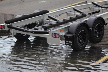 New A Series Aluminium Boat Trailer drom Savage Trailers