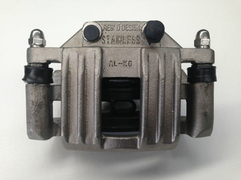ALKO HYDRAULIC BRAKE CALIPER - STAINLESS STEEL x 1 - INCLUDES PADS