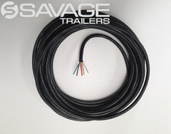 5 CORE TRAILER WIRE - TINNED WIRE - 10M