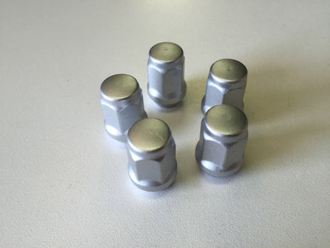 "WHEEL NUTS - BOAT TRAILER - MARINE COATED - 1/2"" FORD - PACK OF 5"