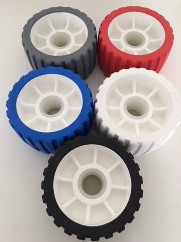 "5"" WOBBLE ROLLERS 125mm x 75mm AUSTRALIAN MADE x 10 ROLLERS"