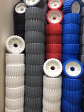 "BOAT TRAILER 5"" WOBBLE ROLLERS  BULK BUY  x 10 - AUSTRALIAN MADE 125 x 75mm - 5 COLOURS AVAILABLE"