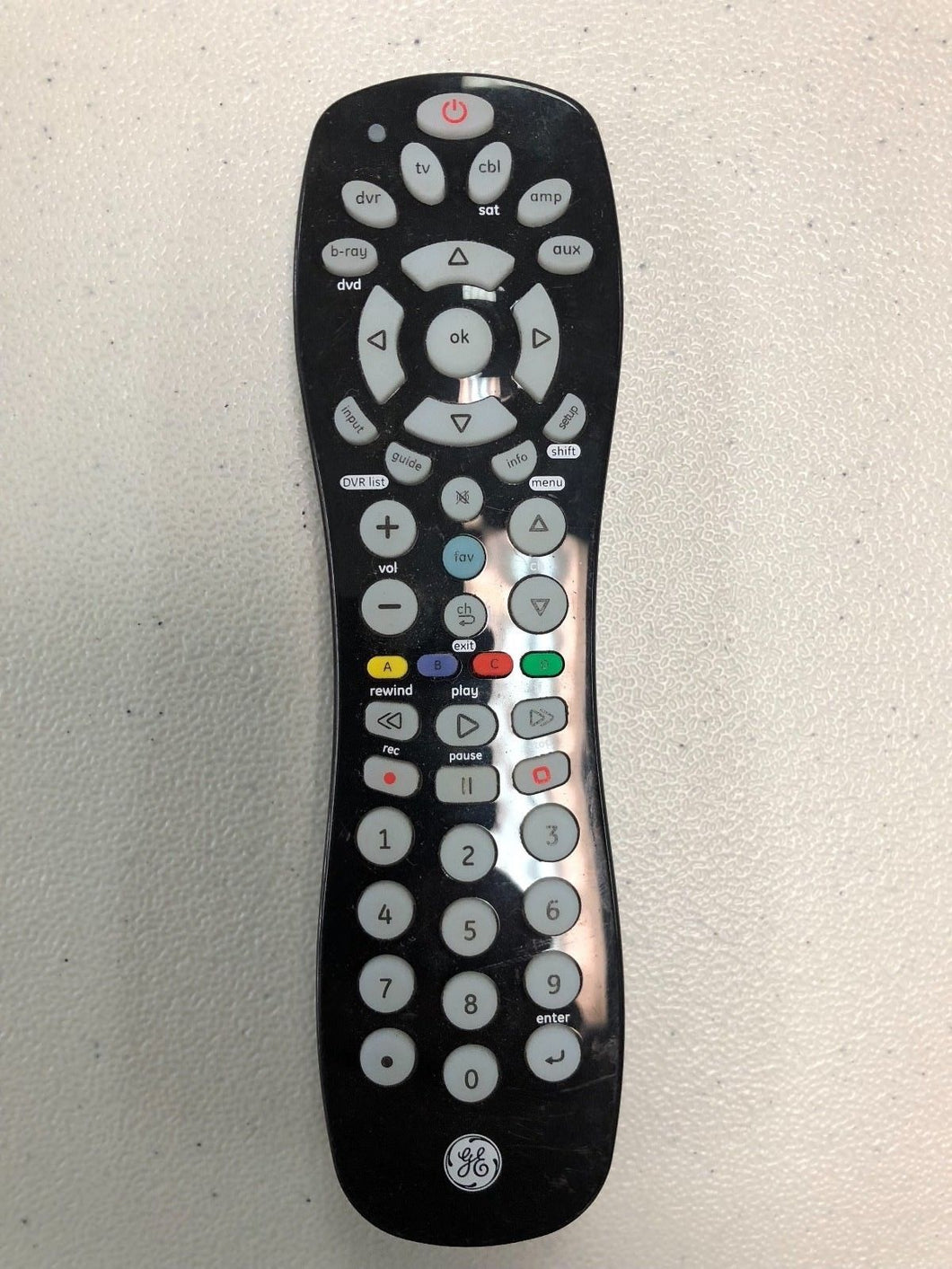 24922-CL3 1432 6177 GE General Electric TV Remote Control 4511-1 front
