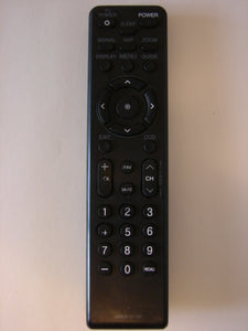image of front of the Zenith LG TV Remote Control AKB36157102