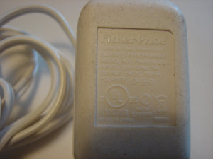 close up of writing on Fisher-Price Baby Monitor AC Adapter wall power plug cord PA-0610-DUA