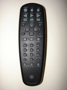 front of 151330 GE VCR Remote Control
