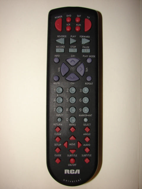RCA Remote Control CRK70Q1 front photo