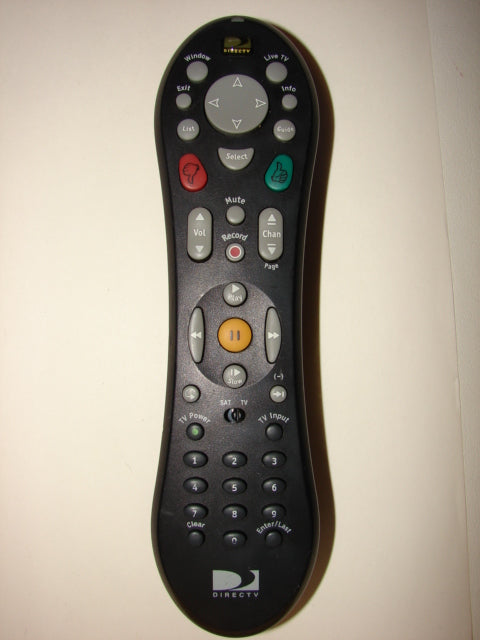 front view of DirecTV Remote Control 111204/A1