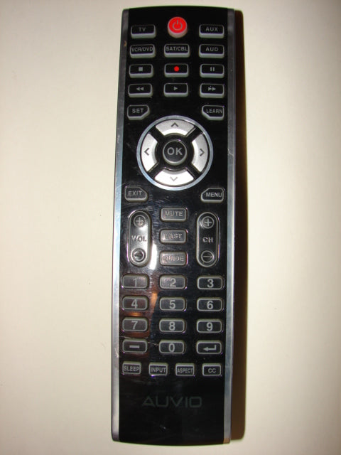 front view of Auvio Satellite Cable TV Remote Control 15-304