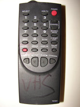 NA361 VCR TV Remote Control front image