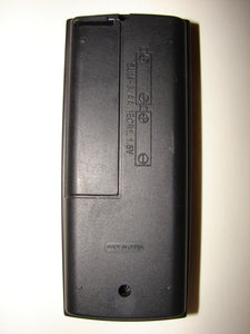 NA361 VCR TV Remote Control back image