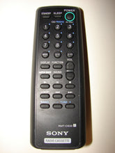 top image of the SONY Radio Casette Remote Control RMT-CS33