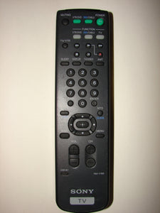 front of the Sony TV Remote Control RM-Y165